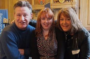 Kevin Cunnington, Annette Sweeney, Lara Stevenson