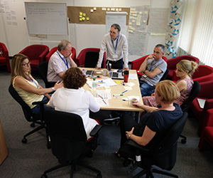 Leeds Digital Academy students