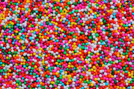 hundreds of multi-coloured balls
