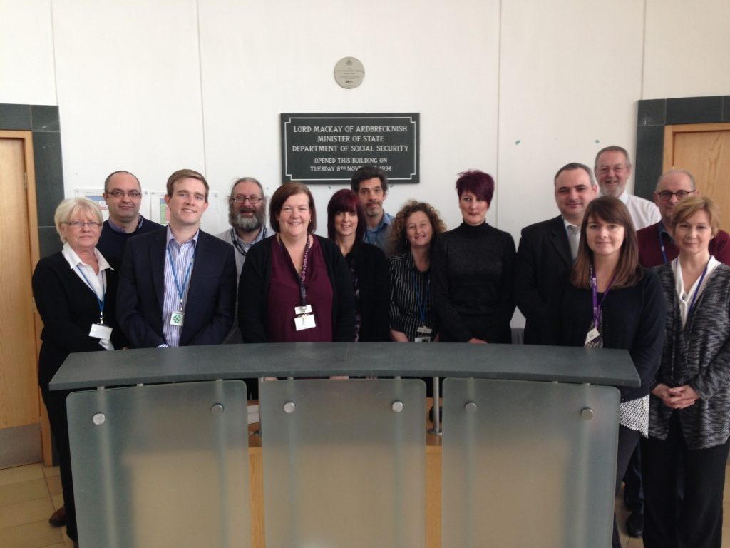picture of the Service Transition Change & Release Management team