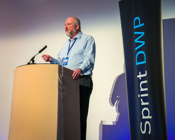 Nic talks about Enabling Services at Sprint DWP