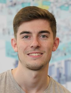 Sam Atherton, DWP intern
