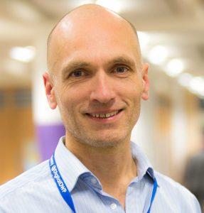 Richard Knight, DWP's Head of Business Analysis