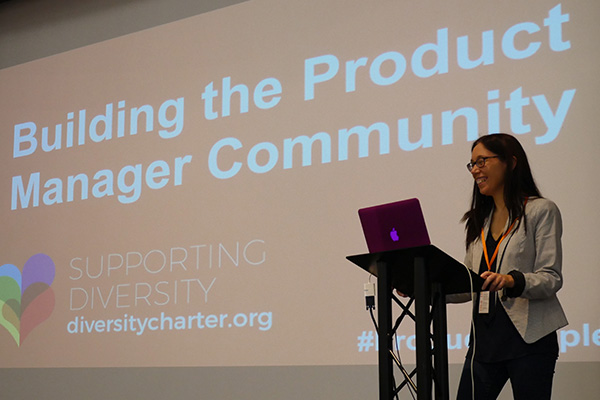 Zoe Gould opens DWP's cross-government Product Manager community event