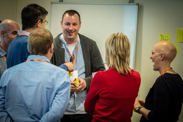 A Product People breakout session at DWP's recent Product Manager event