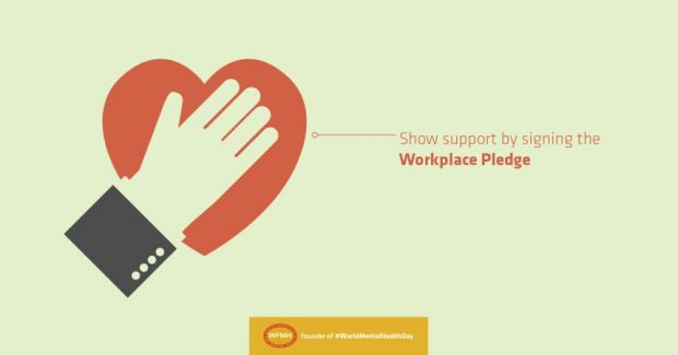 World Mental Health Day Workplace Pledge image