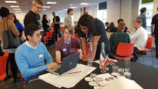 3 delegates at Hack the North talk about their ideas and solutions