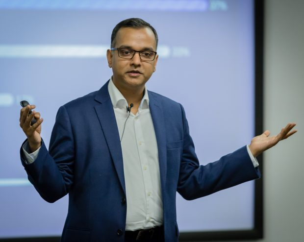 "Mayank Prakash: ""Our strategy is to deliver"""