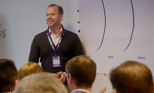 Mike Suter-Tibble, head of performance analysis at DWP Digital