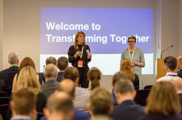 Transforming Together at the Barbican, London, January 31st