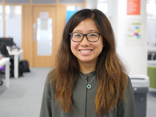 Marie Cheung, service designer, DWP Digital
