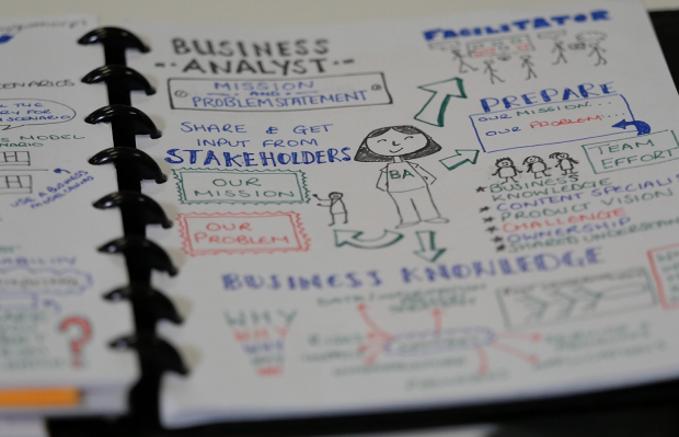 One of Hayley's sketchnotes