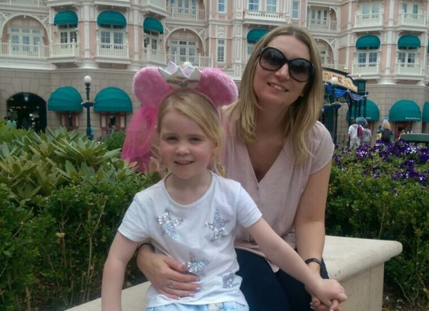Emma Murphy and her daughter