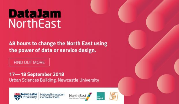 DataJam North East poster