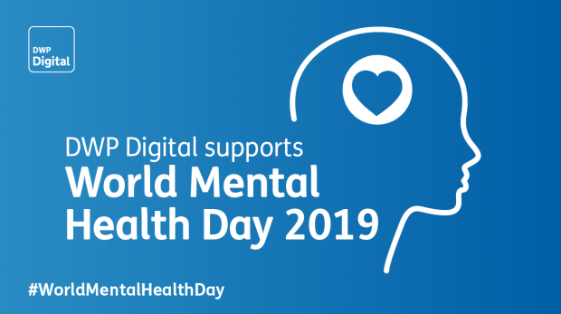 World Mental Health Day logo and hashtag