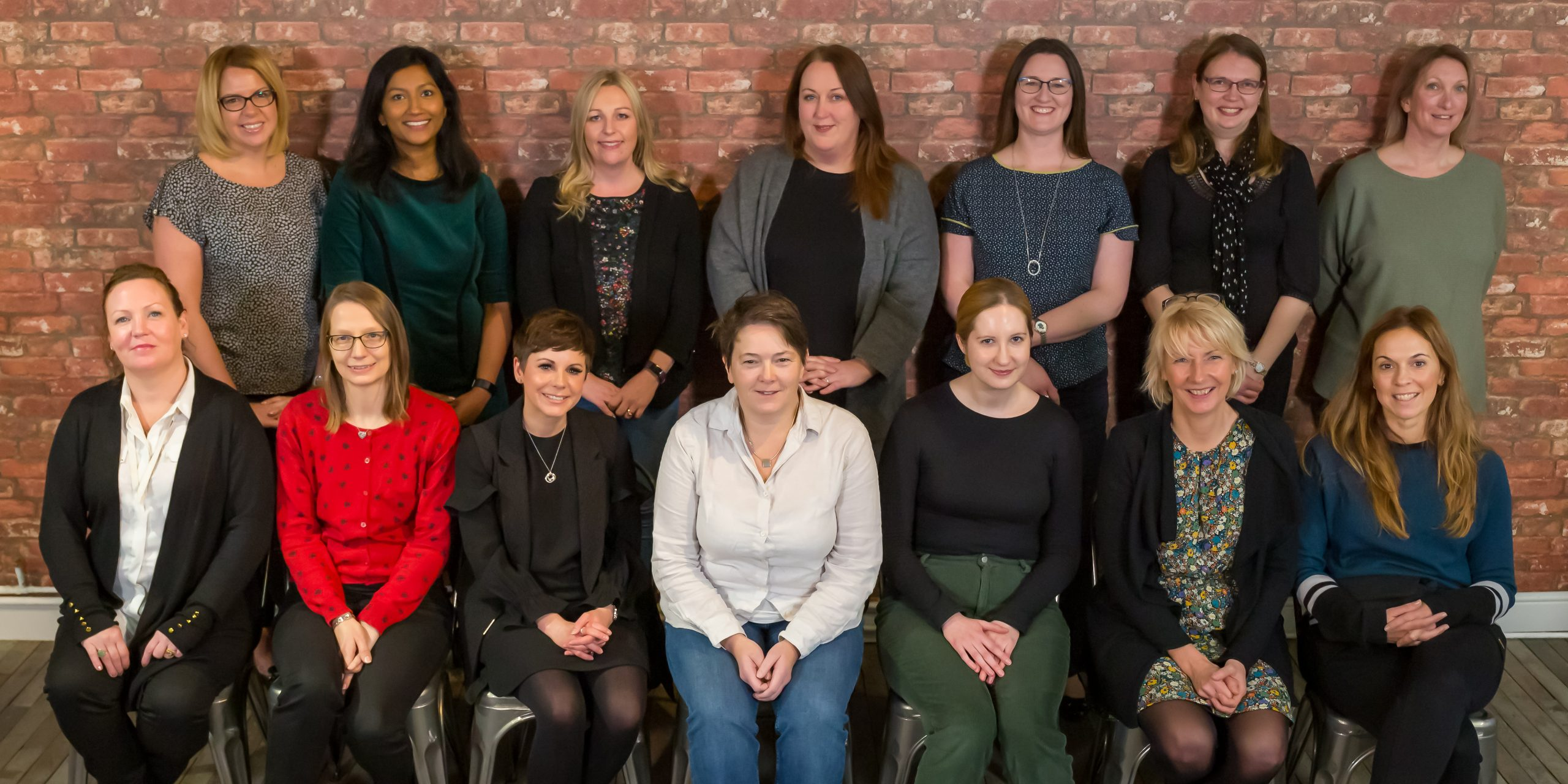 The 14 women who are part of the third Digital Voices programme