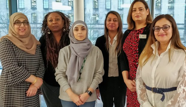 BAME colleagues taking part in the Springboard programme