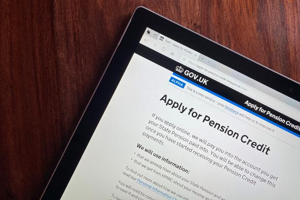Apply for Pension Credit website